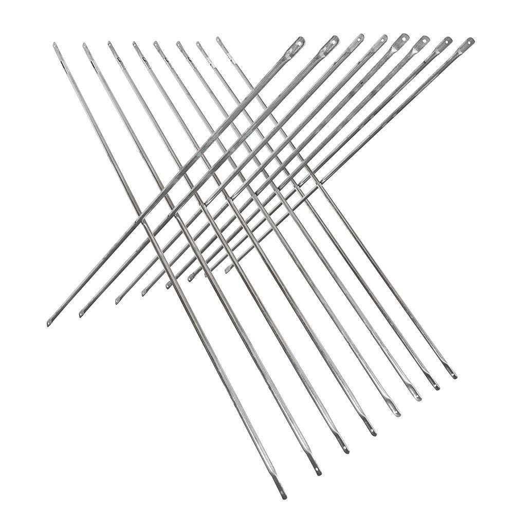 4 ft. x 10 ft. Scaffold Cross Brace (8-Pack)
