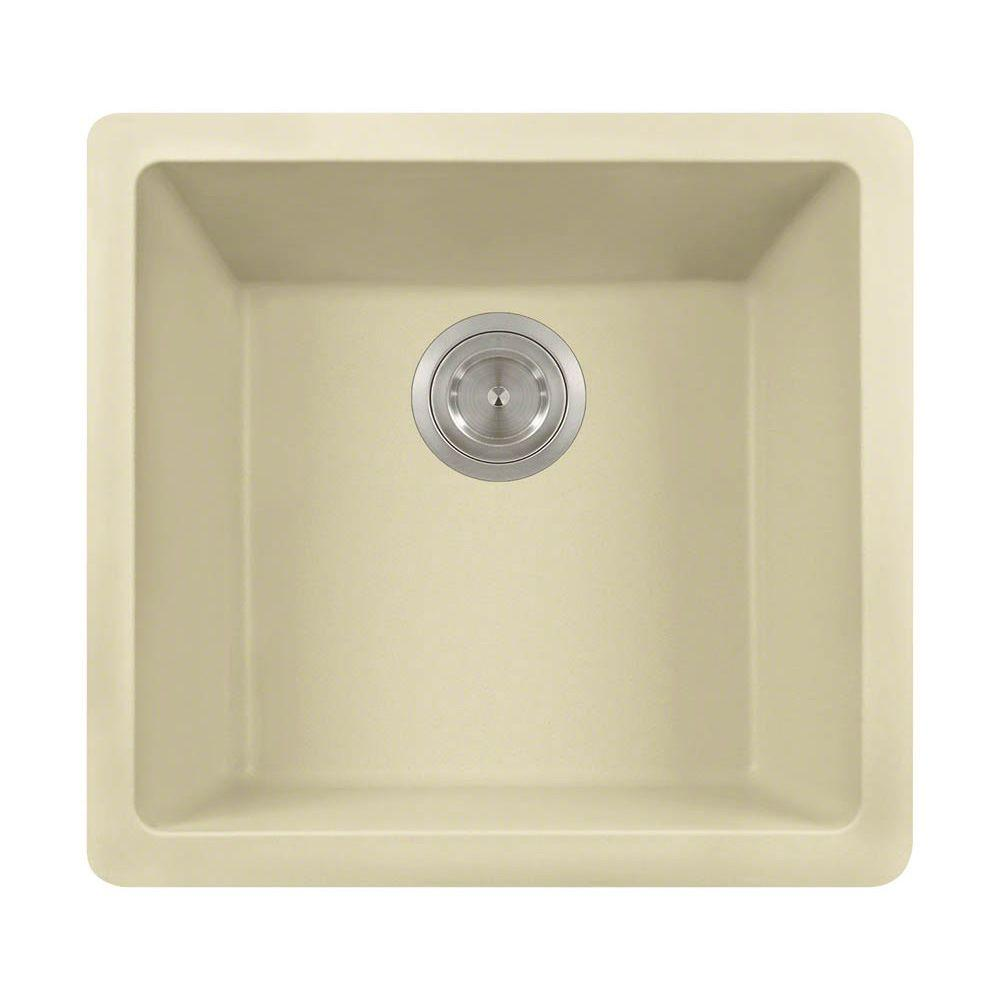kitchen sinks direct mr direct undermount composite 18 in single bowl kitchen 3004