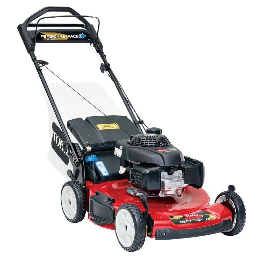 Toro Honda GCV160 22 in. Personal Pace Recycler Variable Speed Gas Walk  Behind Self Propelled