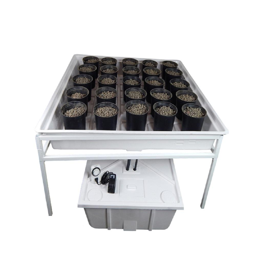 Viagrow 4 ft  x 4 ft  Ebb and Flow Hydroponics System
