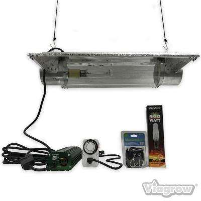 400-Watt Air Cooled Cylinder Deluxe Grow Light Systems