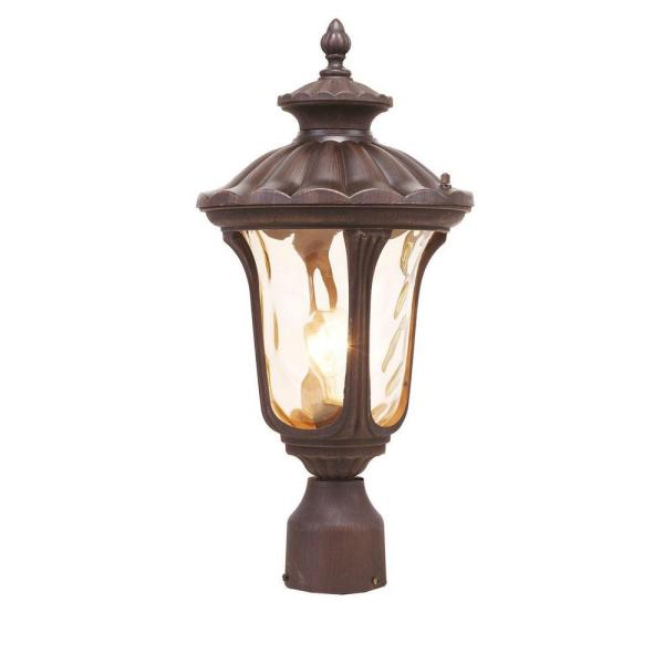 Providence 1-Light Outdoor Imperial Bronze Incandescent Post Head Light
