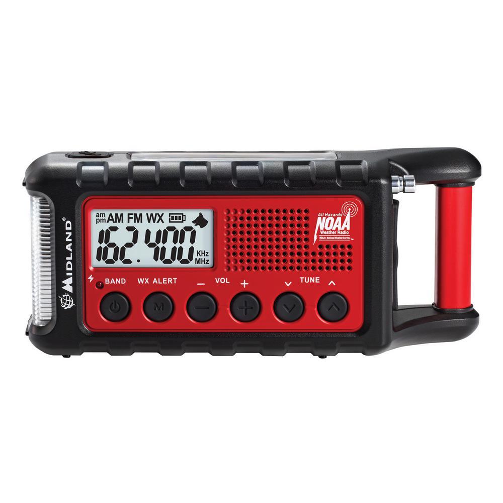 E+READY Emergency Crank Weather Alert Radio