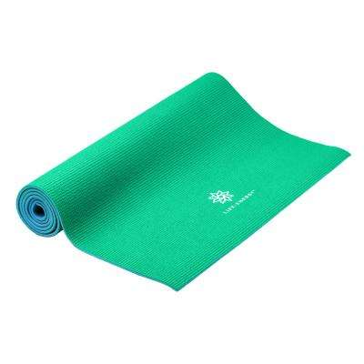 6 mm Reversible Eco-Friendly Emerald Yoga Mat
