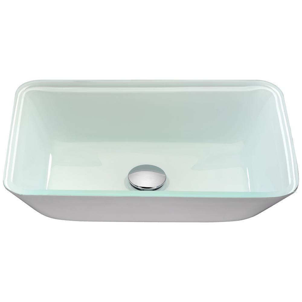 Broad Series Vessel Sink in White