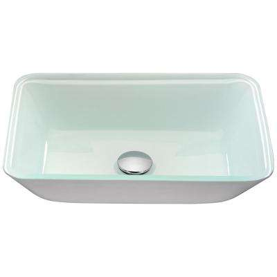 Broad Series Vessel Sink in White