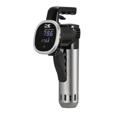 Stainless Steel Black Sous Vide Immersion Cooker