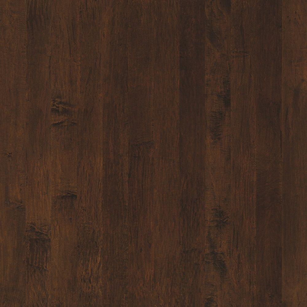 Shaw Hand Scraped Maple Edge Ash Engineered Hardwood Flooring - 5 in. x 7 in. Take Home Sample