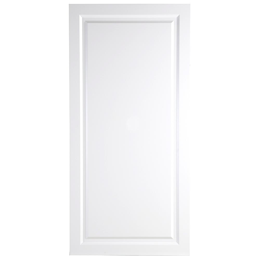 24.38x80x1.13 in. Decorative Pantry End Panel in White