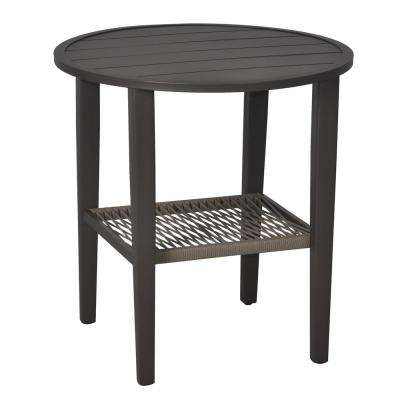 Mix and Match Metal Rope Outdoor Patio Bistro Table