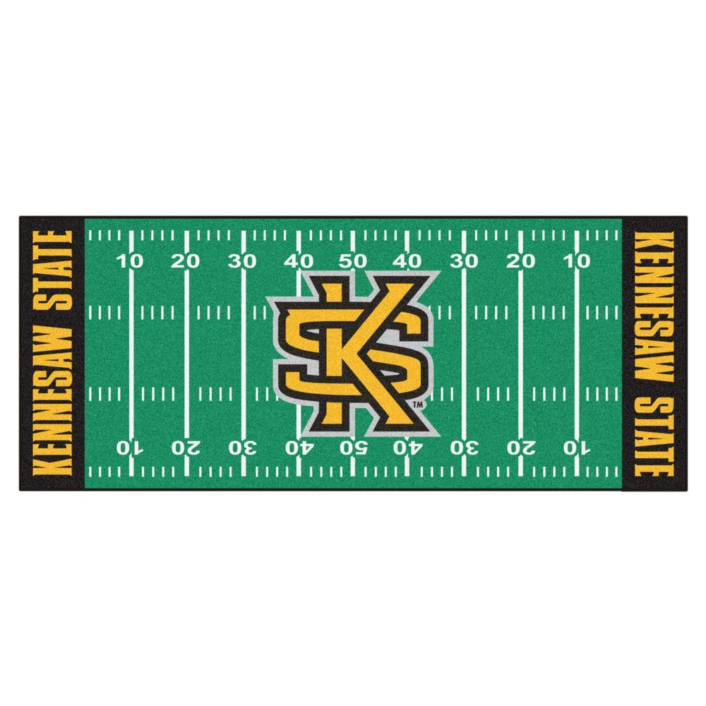 NCAA Kennesaw State University Green 2 ft. 6 in. x 6