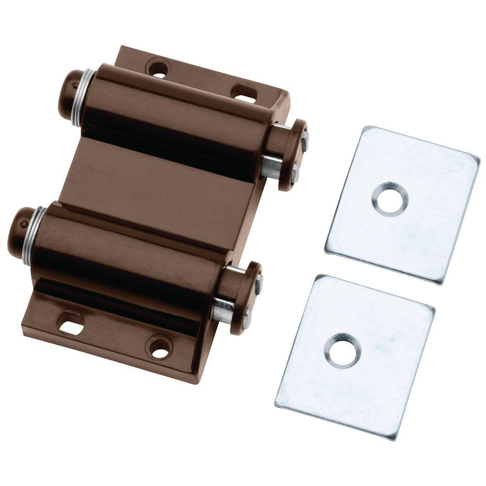 Liberty 2 in. Brown Spring-Loaded Double Magnetic Touch Catch ...