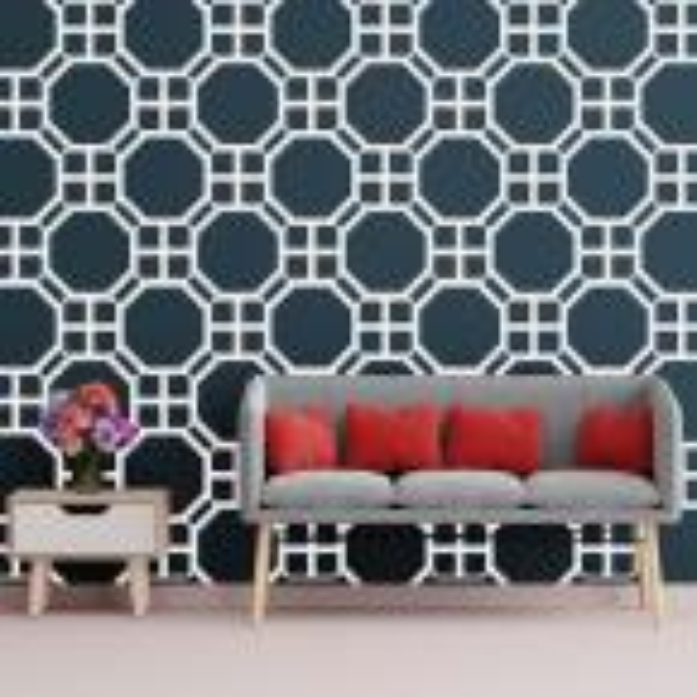 3/8 in. x 26-3/8 in. x 15-3/4 in. Medium Johnston White Architectural Grade PVC Decorative Wall Panels