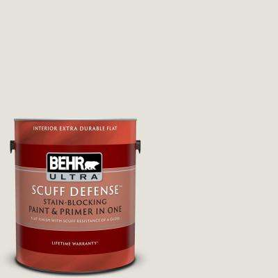 1 gal. #PPU18-08 Painters White Extra Durable Flat Interior Paint and Primer in One