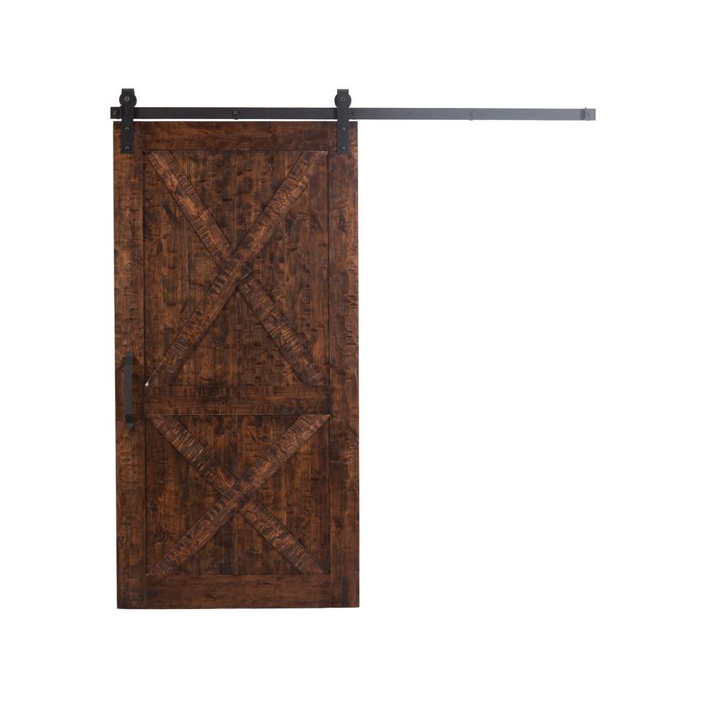 Rustica Hardware 36 In X 84 Stain Glaze Clear Rockwell Wood