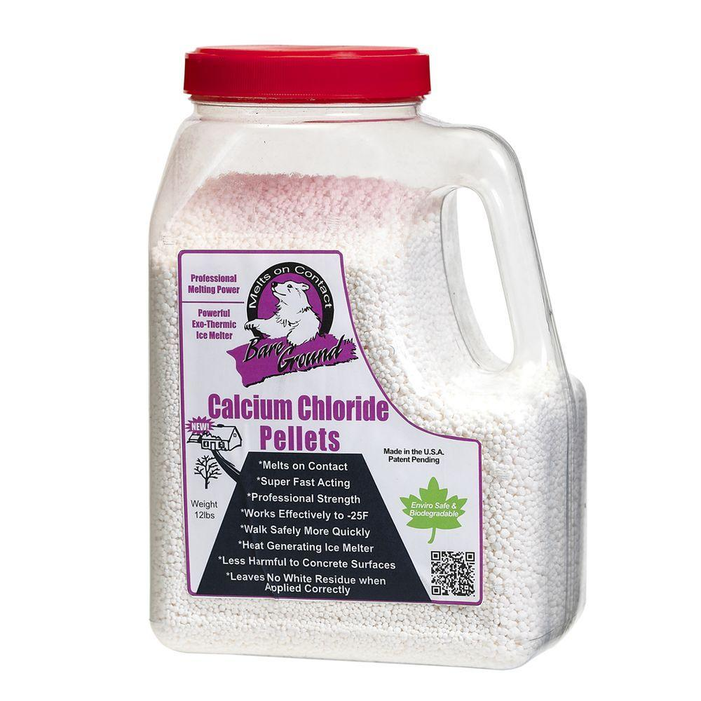 Bare Ground 7 lb. Shaker Jug of Calcium Chloride Pellets