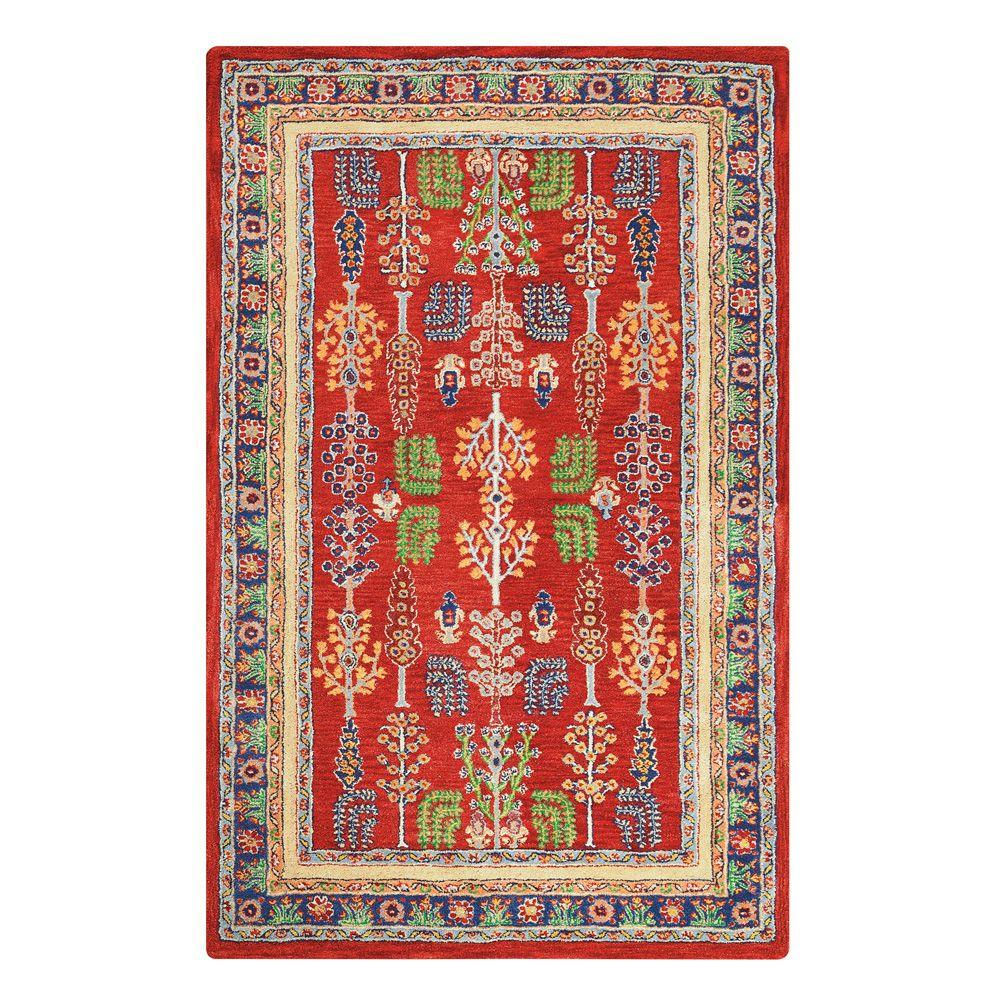 Home Decorators Collection Regency Red 5 Ft 3 In X 8 Ft 3 In Area Rug 5528830110 The Home
