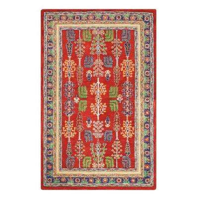 Regency Red 9 ft. 9 in. x 13 ft. 9 in. Area Rug