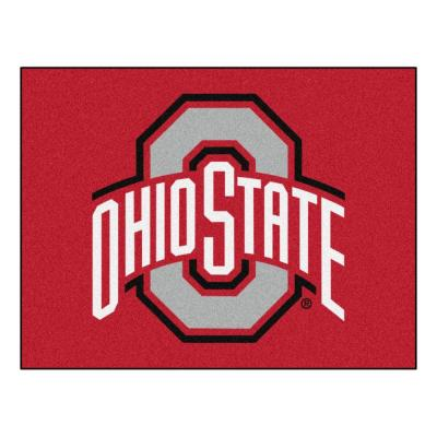 Ohio State University 3 ft. x 4 ft. All-Star Rug