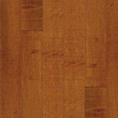 Take Home Sample - American Originals Warmed Spice Maple Engineered Click Lock Hardwood Flooring - 5 in. x 7 in.