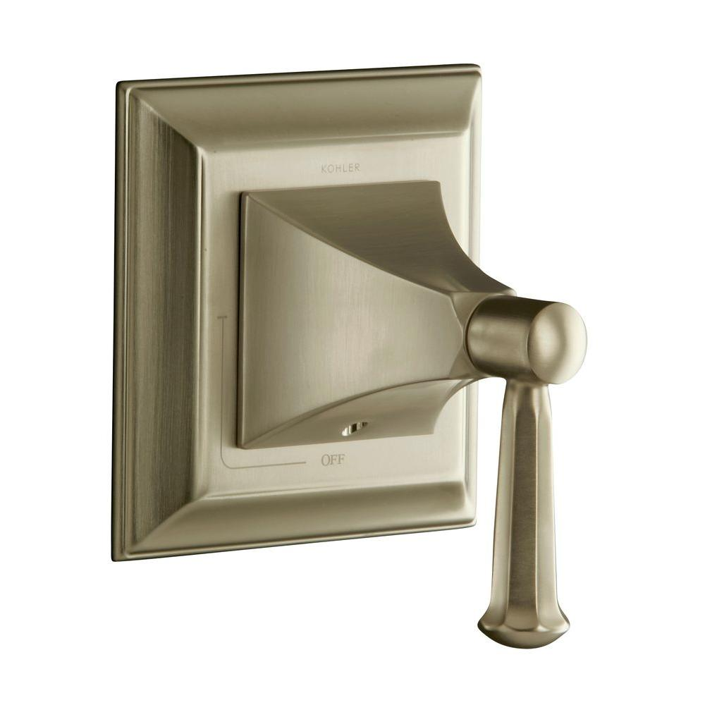 KOHLER Memoirs 1-Handle Wall Mount Volume Control Valve Trim Kit in Vibrant Brushed Bronze (Valve Not Included)