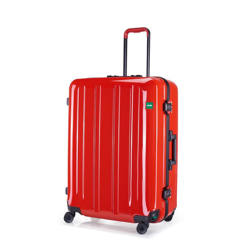Novigo 30 in. Passion Red Hardside Spinner Suitcase