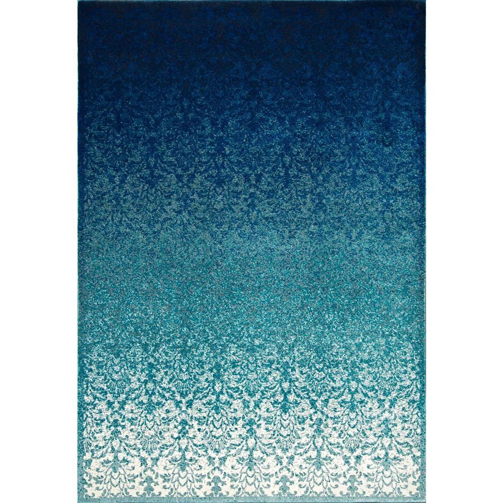 Nuloom Crandall Turquoise 7 Ft 10 In X 9 Ft 6 In Area
