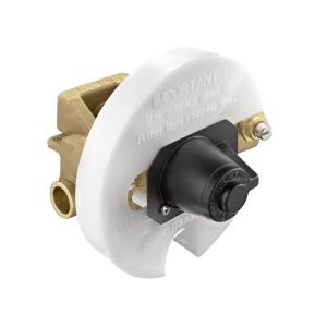 moentrol tub and shower valve with stops 1