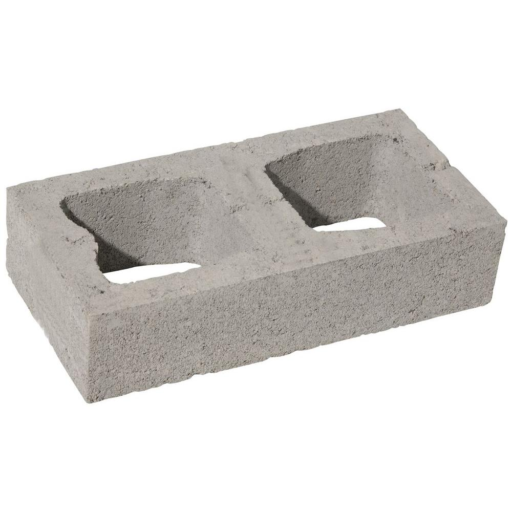 16 in. x 4 in. x 8 in. Concrete Block