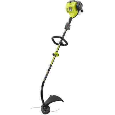 25cc 2-Cycle Attachment Capable Full Crank Curved Shaft Gas String Trimmer