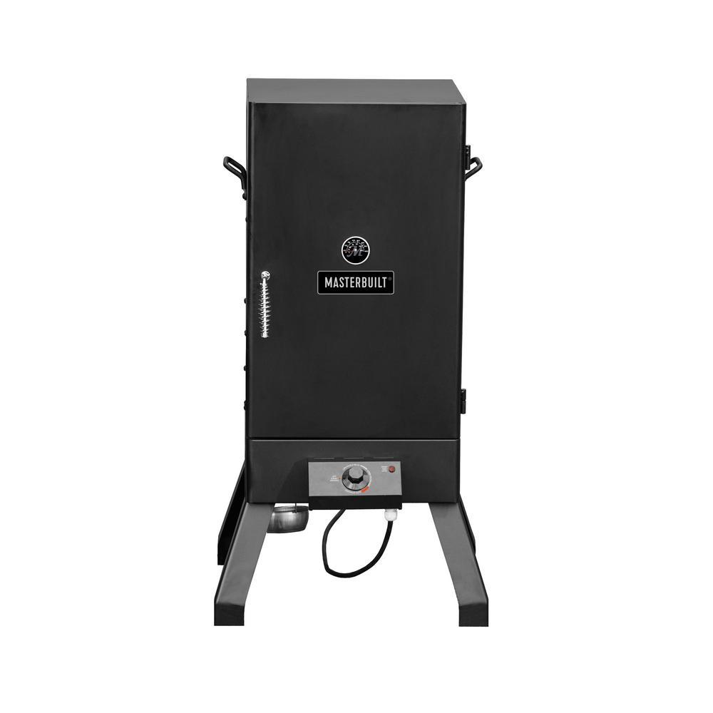 Analog Electric Smoker in Black