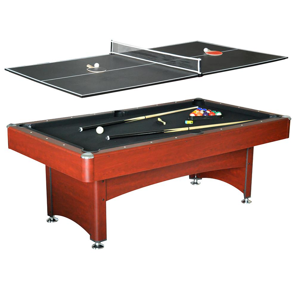 Admirable Hathaway Bristol 7 Ft Pool Table With Table Tennis Top Home Interior And Landscaping Spoatsignezvosmurscom