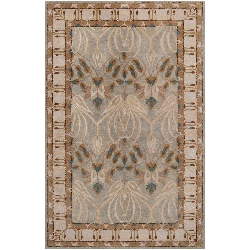 Alna Light Gray 2 ft. x 3 ft. Indoor Area Rug
