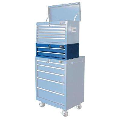 26.5 in. W x 12 in. D x 9.6 in. H 2-Drawer Steel Intermediate Chest, Blue