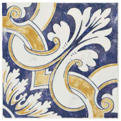 Bourges Mondo 7-7/8 in. x 7-7/8 in. Ceramic Wall Tile (10.76 sq. ft. / case)