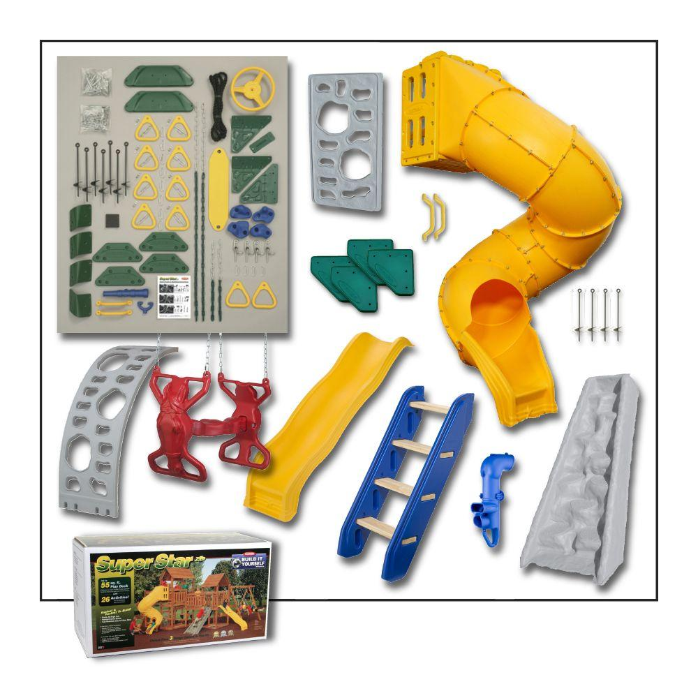 PlayStar Super Star Build It Yourself Gold Playset (Lumber Not Included)