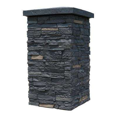 16 x 30 - Faux Stone Siding - Stone Veneer Siding - The Home Depot
