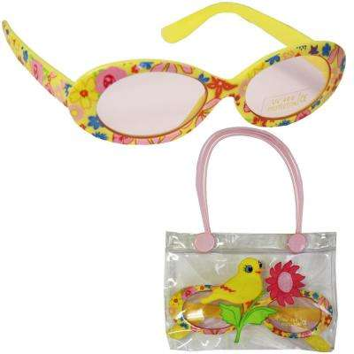 Kids Bird Sun Glasses with a Convenient Carrying Case
