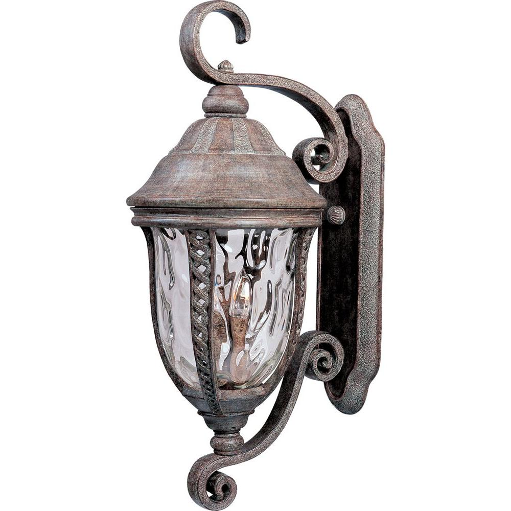 Maxim Lighting Whittier DC 3-Light Earth Tone Outdoor Wall Mount