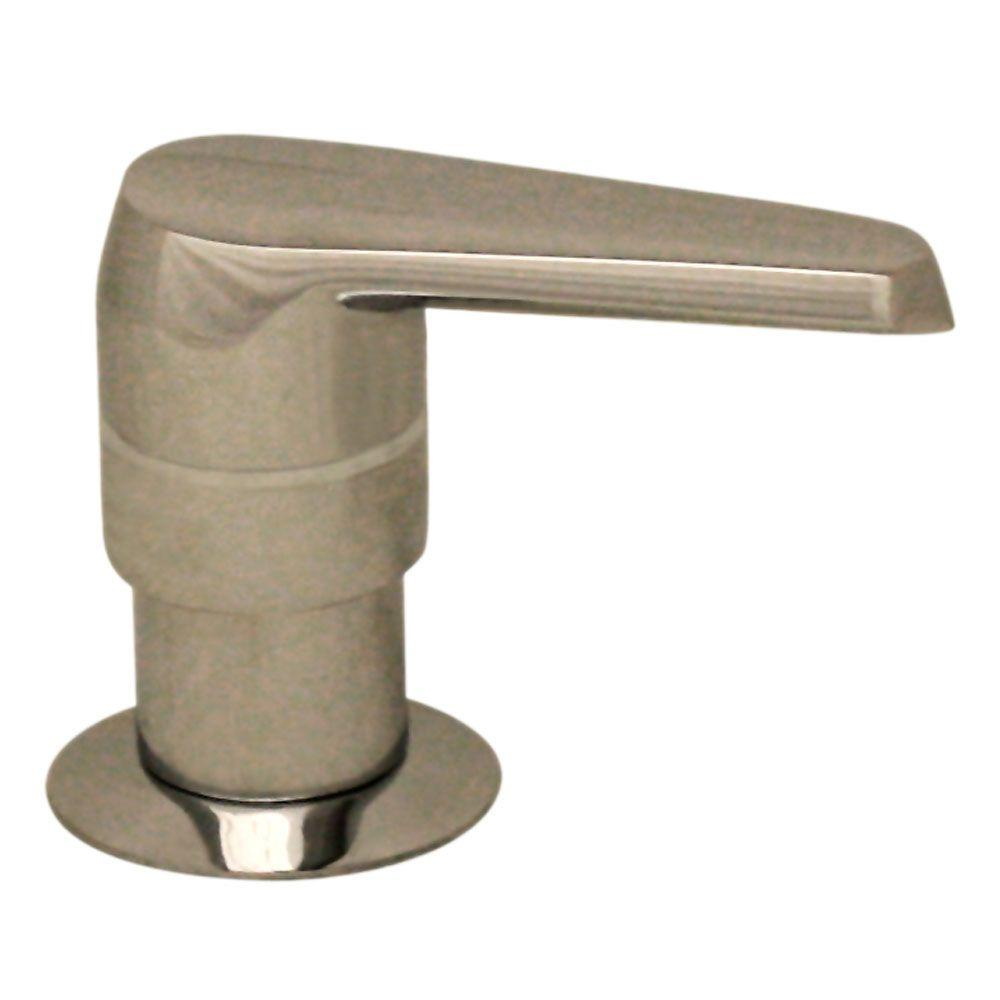 Whitehaus Collection Kitchen Deck Mount Soap/Lotion Dispenser in Polished Nickel
