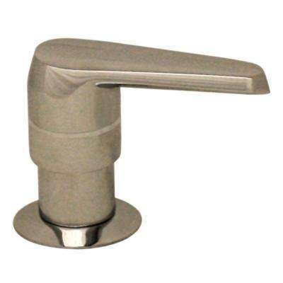 Kitchen Deck Mount Soap/Lotion Dispenser in Polished Nickel