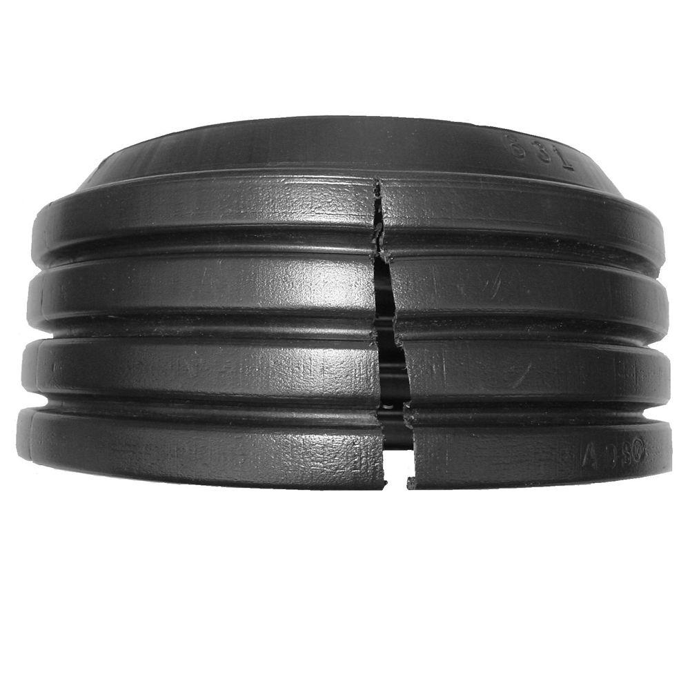 Advanced Drainage Systems 24 in  Solid Split End Cap