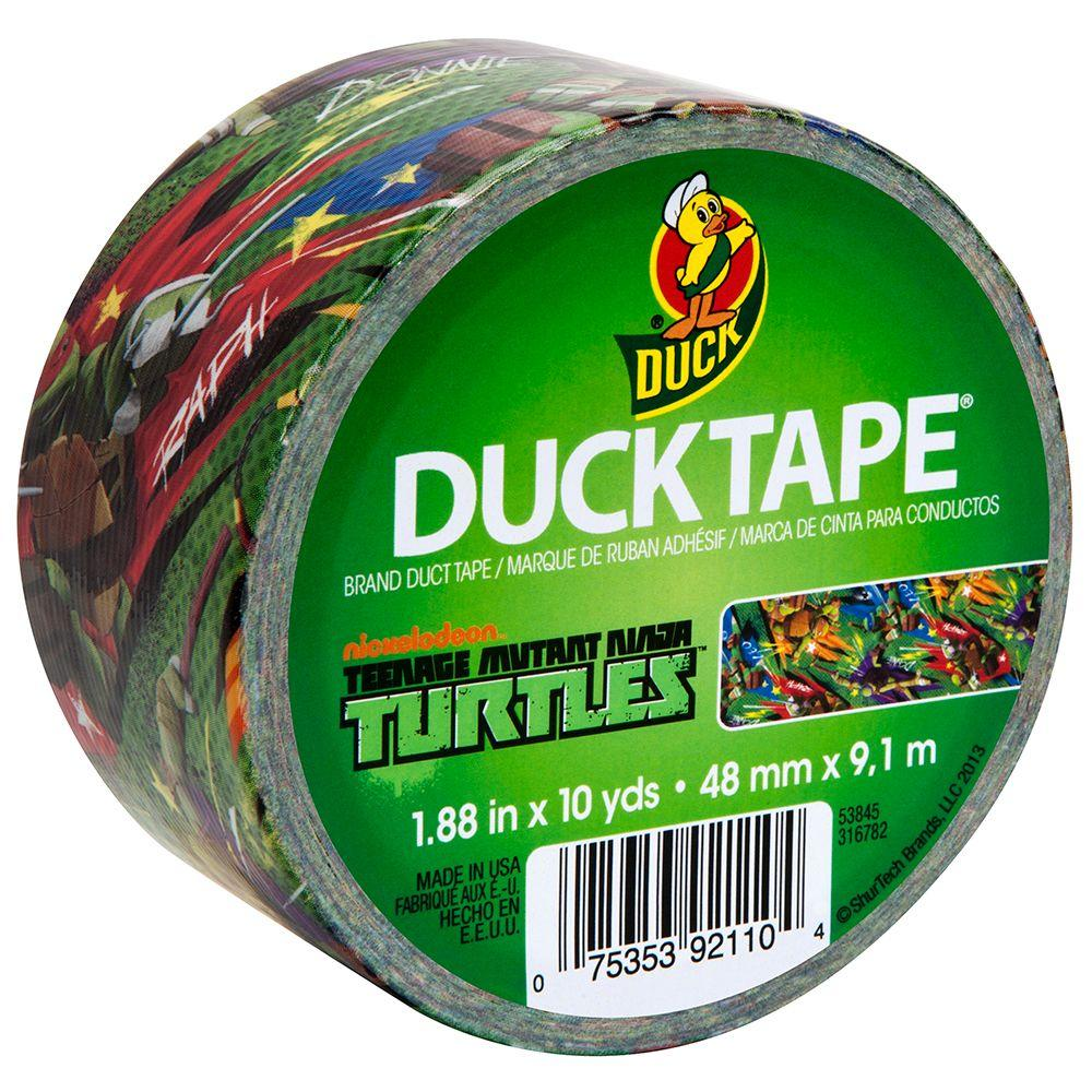 Duck 1.88 in. x 10 yds. Ninja Turtles Duct Tape