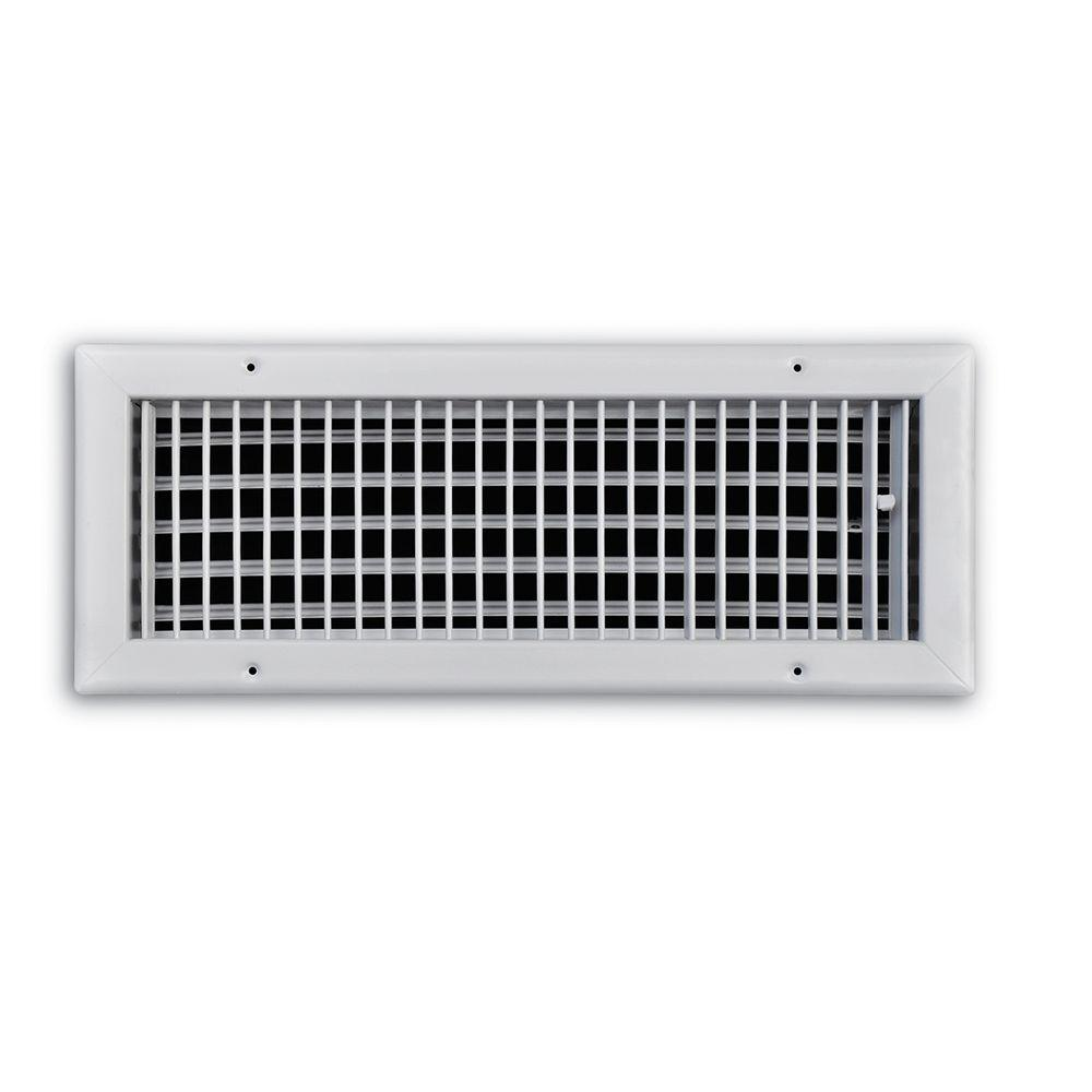 Truaire 16 In X 6 In Adjustable 1 Way Wall Ceiling