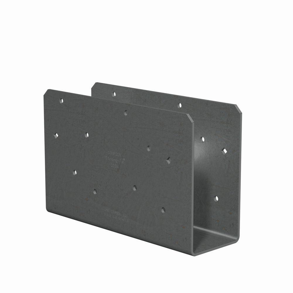 7-Gauge 4x Column Cap Only (No Straps) with SDS Screw