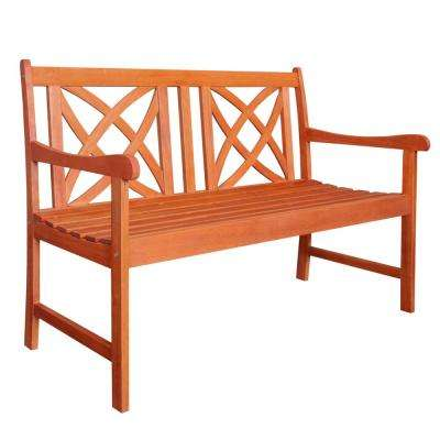 4 ft. Wood Garden Bench
