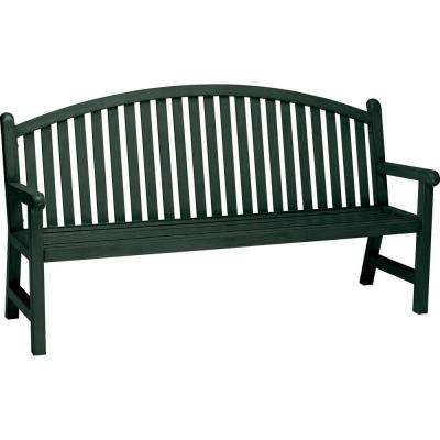 Spring Arbor 6 ft. Contract Arch Back Hunter Bench Slat