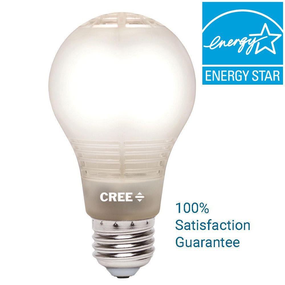 Cree 60W Equivalent Soft White A19 Dimmable LED Light Bulb with 4-Flow Filament Design