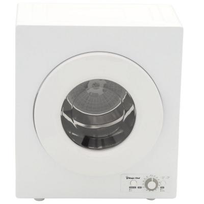 2.6 cu. ft. White Compact Electric Dryer