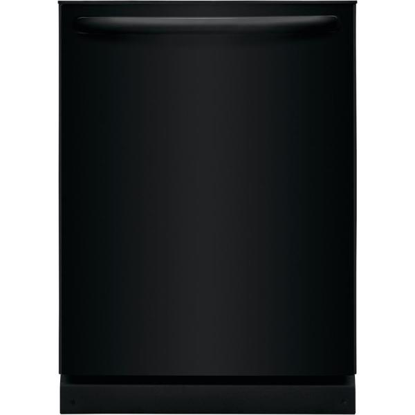 24 in. Built-In Top Control Tall Tub Dishwasher in Black, ENERGY STAR, 54 dBA